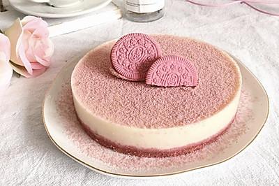 粉色奥利奥慕斯蛋糕