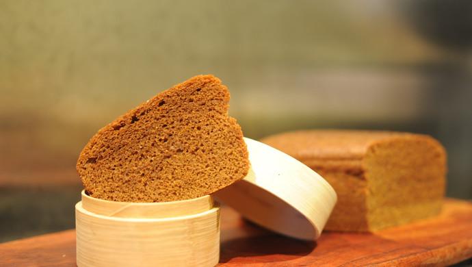 在家开茶楼-黑糖马拉糕(酵母版)