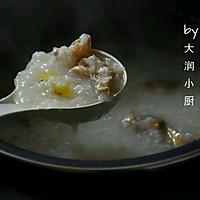 快手鸡丝香菇粥#急速早餐#的做法图解6