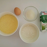 【简易版】奶香玉米饼的做法图解1