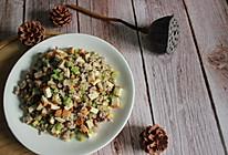 芹菜豆干炒肉末的做法