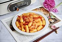 韩式辣炒芝士年糕的做法