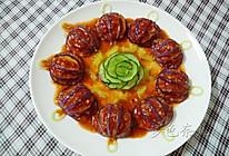 茄汁灯笼茄子的做法