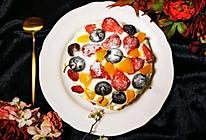 巧克力水果蛋糕的做法