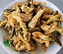 吃完渣都不剩的炸蘑菇的做法