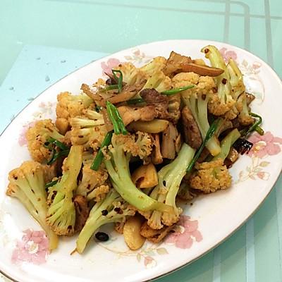 最爱老干妈---干锅有机花菜