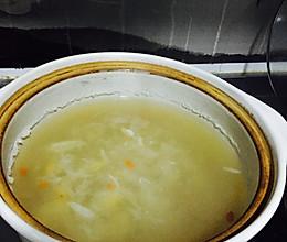 银耳百合汤/糖水/润肺汤/解酒甜汤的做法