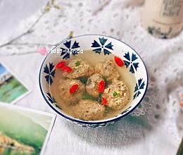 冬季补身理气神器—生氽海参牛肉丸子汤的做法