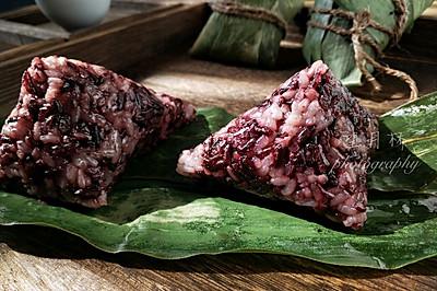 紫米蜜枣粽