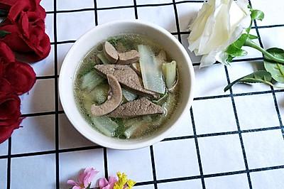 猪腰猪肝汤