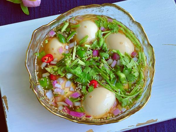 低脂低卡韩式酱鸡蛋的做法
