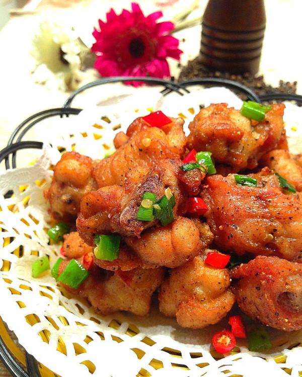 椒盐蒜香鸡翅