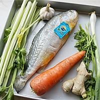 永远吃不够的烤黄花鱼的做法图解1