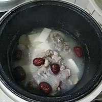 山药猪尾红枣汤的做法图解4