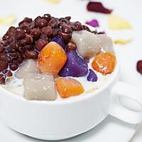 「迟の味」芋圆红豆汤