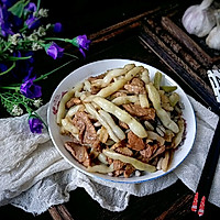 #花10分钟,做一道菜!#猪肉小炖芸豆的做法图解8