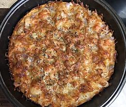 最优披萨皮制作及馅料构成的做法