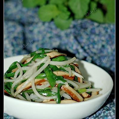 银芽韭菜炒香干