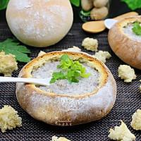 提高免疫,面包香菇浓汤#柏翠辅食节-春节辅食#的做法图解18