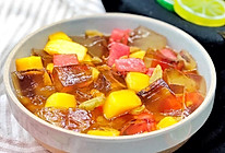 水果红糖冰粉的做法