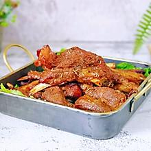 #肉食者联盟#蜜汁迷迭香烤羊排