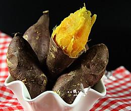 三部烤红薯的做法