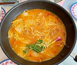 番茄牛肉杂菜汤的做法