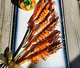 黑胡椒海盐烤虾的做法