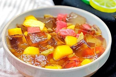 水果红糖冰粉
