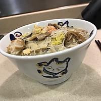 姜汁什锦海鲜面