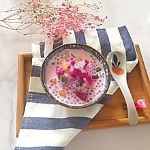 #炎夏消暑就吃「它」#芋圆椰汁西米露