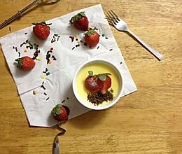夏日炎炎、消暑甜品-奶酪布丁的做法