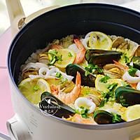 什锦海鲜饭 #父亲节,给老爸做道菜#的做法图解2