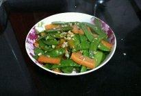 蒜香荷兰豆的做法