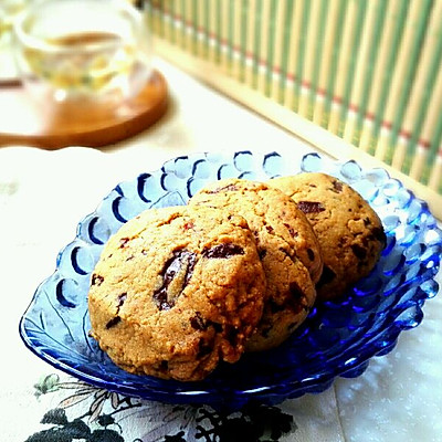 美式巧克力曲奇 chocolate chip cookies