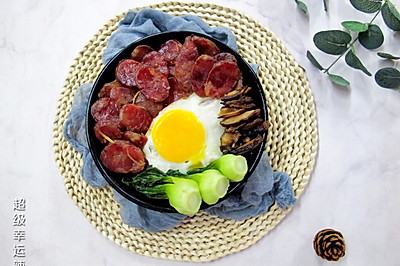 煲仔饭(家庭电饭煲版)