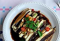 #全电厨王料理挑战赛热力开战!#不炸不炒清蒸茄子的做法