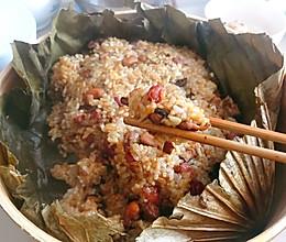 荷叶糯米鸡#做道好菜,自我宠爱!#的做法