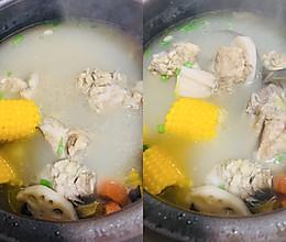 精品°养生排骨玉米山药汤的做法
