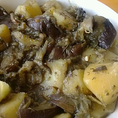清炖土豆茄子