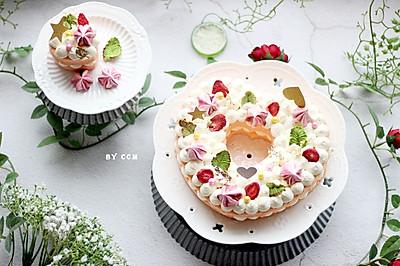 心形蛋糕----送给女王节不一样的你#做道好菜,自我宠爱!#