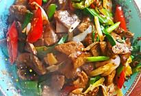 爆炒猪肝,鲜嫩下饭的做法