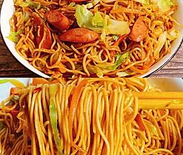 爆好吃的日式炒面,营养又美味的做法