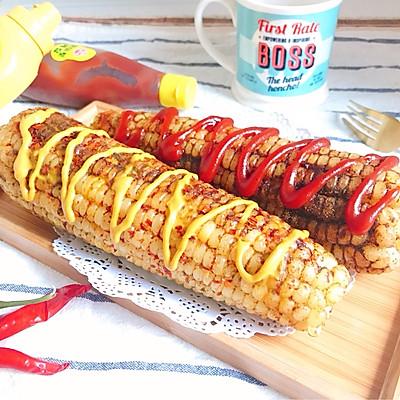 香辣烤玉米 简单快手健康的街边小吃