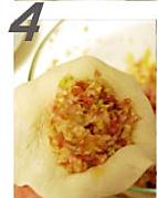 猪肉白菜馅馅饼的做法图解6