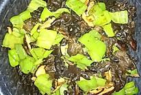 青椒香菇木耳的做法