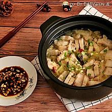 酸菜汆白肉#每道菜都是一台食光机#