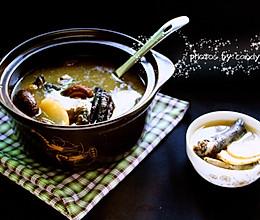 花菇天麻乌鸡汤的做法