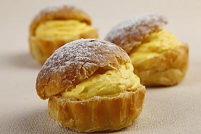 南瓜奶油丹麦面包制作