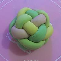 蔬菜汁花样馒头~绣球馒头的做法图解12